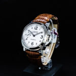 Picture of Panerai Luminor Marina 44mm Pam 113 Watch on black background